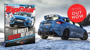lexus rx 450h top gear review new top gear mag out now on the road in the focus rs top gear