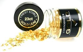 where to buy edible gold leaf 23ct gold leaf flakes gold flakes
