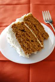 bake repeat pumpkin spice cake with cheese frosting
