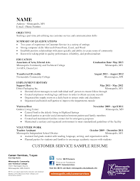 how to write a resume for customer service representative resume