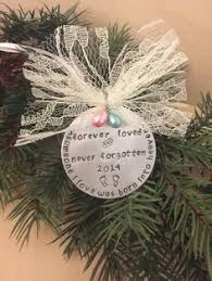 infant loss christmas ornaments christmas memorial ornament loss of loved ones gift because