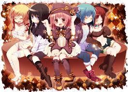 madoka magica halloween madoka magica pinterest anime
