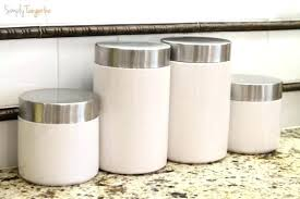 designer kitchen canisters contemporary kitchen canisters kitchen design ideas