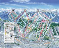 Utah Ski Resort Map by Vail Trail Map Wanna Go Back Already Love These Pinterest