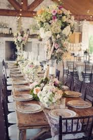table setting western style western elegance one to wed