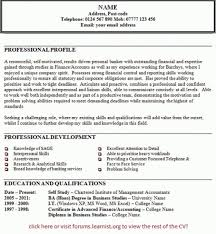 how to write a personal statement for resume resume personal