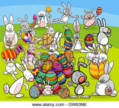 big easter bunny easter happy easter easter card easter bunny with eggshell