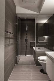 Slate Tile Bathroom Shower Modern Small Bathroom Design With Slate Tiles And Walkn Shower