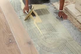 installing wood flooring concrete reclaimedfloors