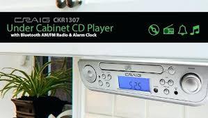 under cabinet bluetooth speaker under cabinet bluetooth speakers under cabinet player with am radio