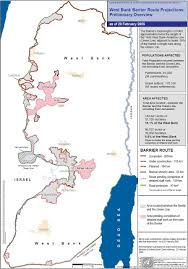 Green Line Map Icj Israel Separation Wall Security Fence In The Occupied