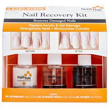 amazon com nail tek new restore damaged nails kit intensive