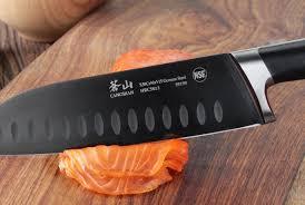 German Steel Kitchen Knives Cangshan K Series 7 Inch German Steel Santoku Knife U0026 Reviews