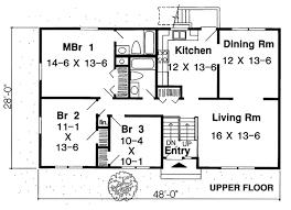 floor plans for split level homes house plan 34679 at familyhomeplans