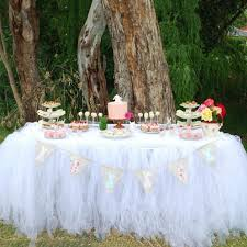 banquet table decorations photos wedding table decorations 80 91 5cm tulle table skirt banquet table