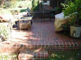prepossessing backyard brick patio in home remodeling ideas with