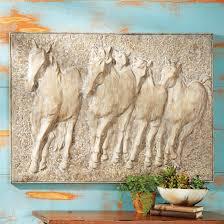western decor western bedding western furniture cowboy decor mustang stampede metal wall art