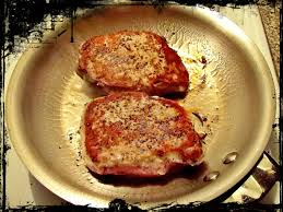 rustic country style pork chops the hobby cook
