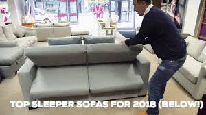 Sleeper Sofa Comfortable 5 Best Sleeper Sofas Reviews 2018 Top Comfortable Pull Out Beds