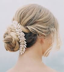 hair brooch bridal hairpieces wedding chignon with hair brooch hairstyles