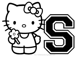 hello kitty s coloring page free download
