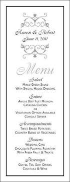 wedding menu templates best 25 wedding menu template ideas on wedding dinner