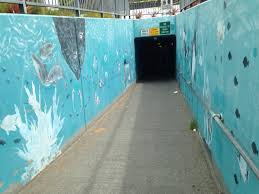 murals until suburbia my exploration for public art in palo alto started at jerry boden park if you go under the train tracks there is my favorite mural of the ocean and the