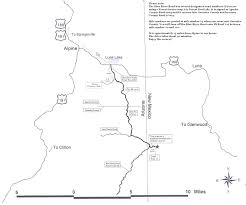 Kingman Arizona Map by Find Us Blue River Wilderness Retreat