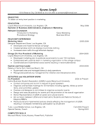 Format Job Resume Relevant Coursework In Resume Example Http Www Jobresume