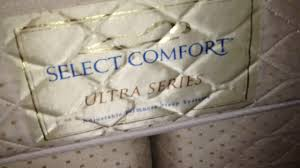 Select Comfort Mattress Sale Assemble A Used Select Comfort Or Sleep Number Air Mattress