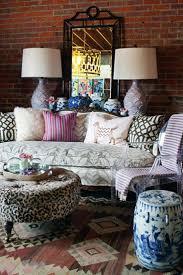 impressive bohemian living room design with nice unique sofa style