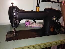 Sewing Upholstery By Hand Singer Sewing Machine 241 12 Vintage Classic Cars And Tools