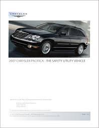 2007 chrysler pacifica brochure