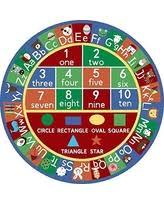 Alphabet Area Rug Holiday Savings On Kids Abc Educational Alphabet Letter And