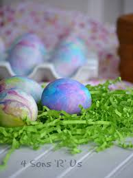 how to color easter eggs shaving cream colored easter eggs 4 sons r us