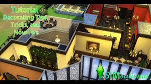 simsational the sims 4 tutorial decorating tips tricks and how