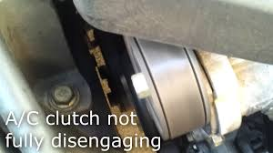 mazda 3 a c compressor clutch failure youtube