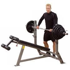 amazon com body solid sdb351g proclub line olympic decline bench