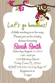 baby shower invitations for a template best template collection
