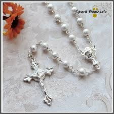 wedding rosary 12pcs lot religious gifts women s wedding rosary necklace jesus