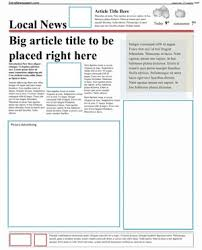 free word templates for word free newspaper template pack for word perfect for school