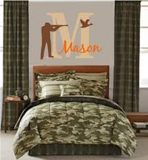 hunting bedroom theme decor boys room camo ideas lodge decorating