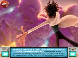 cloudy chance meatballs movie storybook u0026 cloudy 2