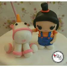 despicable me cake topper it s so fluffy i m gonna die agnes of despicable me with