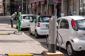 electric cars charging greener car sales grew at 10 times the rate of petrol vehicles in