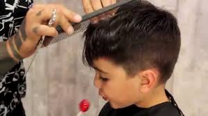 hairstyles for 12 year old boy how to give your kid a mod fade haircut tutorial youtube