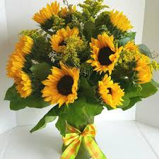 sunflower delivery happy sunflowers bouquet nc florist flower delivery