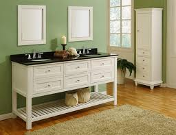 Antique Black Bathroom Vanity by Elegant White Bathroom Vanity With Black Top Brookfield 36 Inch