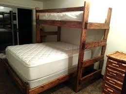 Custom Bunk Beds Custom Bunk Beds Romans Full Over Queen Bed Inside Twin