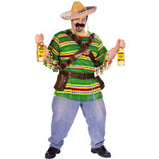 bandit halloween costume c280p mens mexican tequila party halloween plus fancy dress